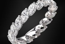 Diamond Marquise Bangles