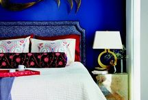 Any colour as long as its indigo or electric blue...