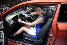Hotesses du salon auto de Genève
