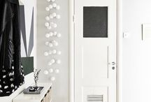 HALLWAY IDEAS / Inspiration for hallways and space saving ideas for tight narrow spaces / by Cate