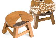 židle a židličky, stoličky