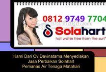 Service Solahart Jakarta Barat Contact Us 082122541663 / SERVICE SOLAHART 082122541663 TELP: 02134082652  SMS 087887330282 Ditangani Oleh Tekhnisi Berpengalaman Kami Dari CV.DAVITAMA Menyediakan Jasa Perbaikan Pemanas Air SOLAHART  CV. DAVINATAMA SERVICE  E-mail: davinatama@yahoo.com Nomer Telpon:  +6221 34082652 Fax : +6221 48702925 Melayani : Jabodetabek