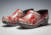 Artful Painted Shoes