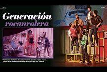 Vaselina Prensa Reforma Red Carpet / Suplemento del periódico Reforma del estreno de Vaselina.  / by Alejandro Speitzer