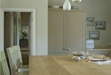 Oak kitchen top