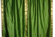 Silk Sari Curtains / by Mogul Interior