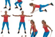 Resistance Band Work Outs / Exercise for Seniors too.