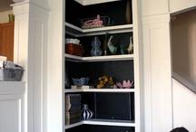 Corner Book Shelves