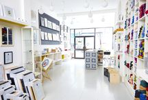 Our Great Stockists / Lovely shops all over the place that stock Mister Peebles and other clever makers