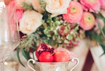 Centerpieces and Tablesettings............ / by Sandy Bassham