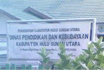 Alamat Sekolah di Kabupaten Hulu Sungai Utara