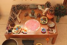 Wally Nature Tables / I am in love with the creativity that people use when making a nature table for their Waldorf area/homeschool.  / by Katy Miller