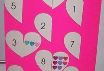 Hearts Unit / Learning for kids with a hearts theme.
