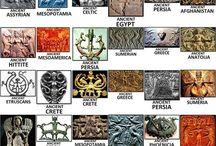 Θεοί και θέαινες - Gods and goddesses / Gods and goddesses of the past  Θεοί και θέαινες του παρελθοντος