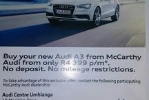 Audi New Cars Sales person / contact me on +27822535238/+27315849635 or email me at lindanim@alpinemotors.co.za