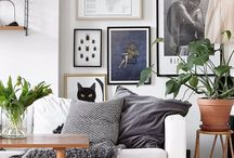 Wall decor / How to adorn, decorate wals for a nice, cosy room