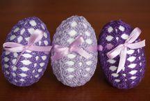 Easter - crochet decoration / My crochet Easter decoration