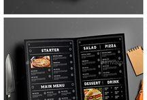 menukaart restaurant