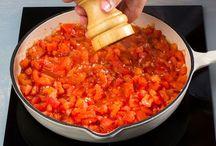 Molho de tomate para piza