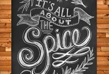Inspriation: Chalkboard