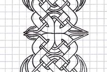tooling leather pattern celtic