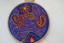 My Embroidery / Images of my embroidery designs and makes