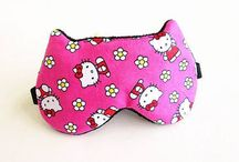 Hello Kitty eye masks