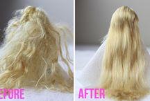 cheveux poupées