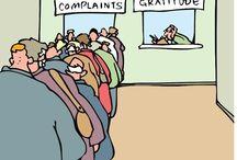 Gratitude / Cultivating gratitude