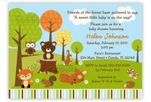 Baby Shower Forest Decorations / by Alysha R. Kallus