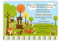 Baby Shower Forest Decorations / by Alysha R. Kallus