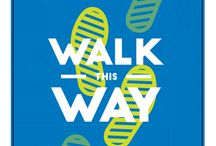 Walk This Way VBS / Walk This Way VBS lends itself to some great decorating ideas. Get INSPIRED! Large Group stage ideas, crafts, snacks, small group environment ideas and more.