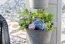 gardening ideas / containers plants and crafty garden ideas to create