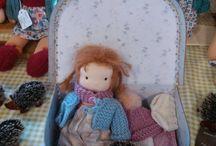 waldorf doll mini