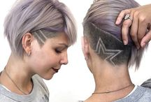 Undercut with pattern