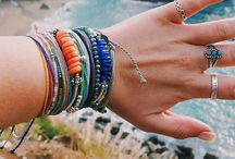 Bracelets and rings