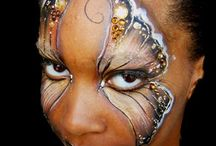Face Paint Butterflies / Lots of butterfly designs for kids and grown up