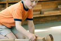 Block Center / Ideas for materials and activities for an Early Childhood Block Center - pre-k, kindergarten