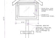 Free Little Library's / little library plans, ideas and tips / by Scatterville
