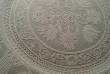 ceramica graffita mantovana creata da me (hobbista)