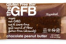 The Gluten Free Bar / Great tasting gluten-free snacks made from simple, non GMO ingredients! https://savorfull.com/brand/gfb-the-gluten-free-bar/