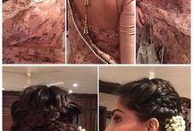 indian hairstil