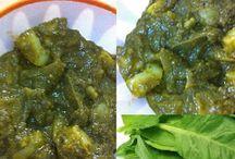 Aloo Palak Gravy - Spinach Aloo Recipes | South Indian Samayal Recipes