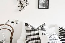 black&white home
