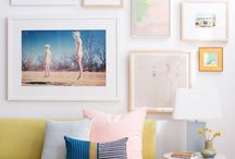 Artwork and picture hanging