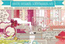 Digital Scrapbook Paper & Patterns