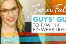 Jenn Falik's Guys' Guide to F/W '14 Eyewear Trends / http://eyecessorizeblog.com/2014/10/jenn-faliks-guys-guide-fw-14-eyewear-trends/ / by Eyecessorize