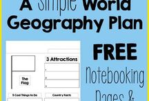 World Geography / Ideas to teach world geography to kids.