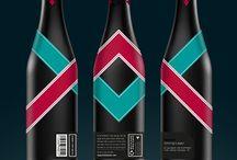 Brewery bottles