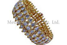 Pave Diamond Bangle Jewelry
